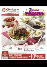 Prospectus Supermarchés Casino PARIS 28 - 34 rue de Ménilmontant : Joyeuses Pâques