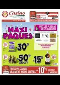 Prospectus Supermarchés Casino PARIS 352 RUE LECOURBE : Maxi Pâques