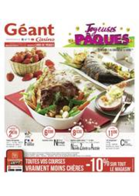 Prospectus Géant Casino SAINT-LOUIS : Joyeuses Pâques