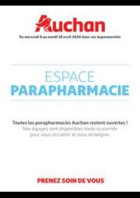 Prospectus Auchan PUTEAUX : Espace Parapharmacie