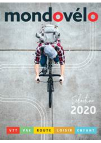 Prospectus Sport 2000 MONTGERON : Catalogue Mondovélo 2020