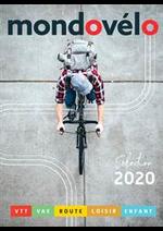 Prospectus Sport 2000 : Catalogue Mondovélo 2020