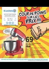 Prospectus E.Leclerc BONNEUIL S/MARNE : COUP DE POING SUR LES PRIX!