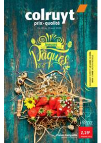 Prospectus Colruyt OOSTENDE : Joyeuses paques