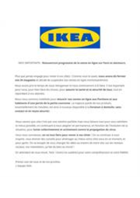 Services et infos pratiques IKEA Mulhouse - Morschwiller-le-Bas : Réouverture progressive