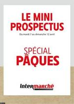 Prospectus Intermarché Super : SPÉCIAL PÂQUES