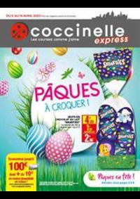 Prospectus Coccinelle Express Cachan : Pâques à croquer!