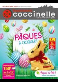 Prospectus Coccinelle Supermarché Saint-Denis : Pâques à croquer!