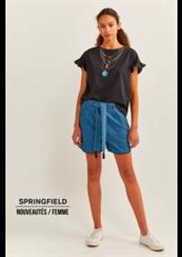 Prospectus Springfield PARIS : Nouveautés / Femme