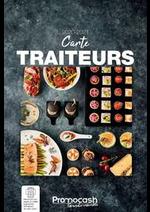 Tarifs Promocash : Carte traiteurs 2020-2021