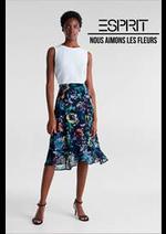 Catalogues et collections Esprit : Nous aimons les fleurs