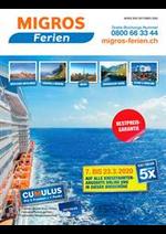 Prospectus Migros Supermarché : Migros Ferien Cruises