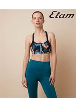 Catalogues et collections Etam Lingerie : Nouvelle Collection Sport