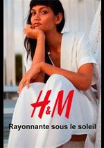 Catalogues et collections H&M : Rayonnante sous le soleil
