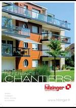 Prospectus Hilzinger : Catalogue Chantier
