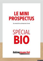 Prospectus Intermarché Express : Spécial Bio