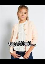 Prospectus Tape à l'oeil : Pulls & Gilets Fille