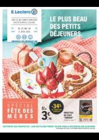 Prospectus E.Leclerc WATTRELOS : Le plus beau des petits déjeuners