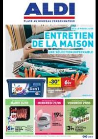 Prospectus Aldi Doubs : Entretien de la MAISON