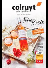 Prospectus Colruyt GRANDVILLARS : Foire aux rosés
