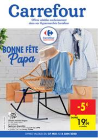 Prospectus Carrefour BOMEREE : folder Carrefour