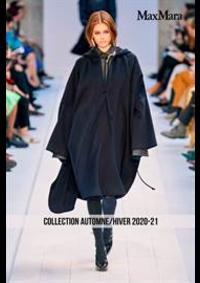 Prospectus Max Mara Metz : Collection Automne/Hiver 2020-21