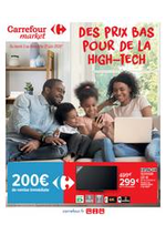 Prospectus Carrefour Market : Des prix bas pour de la high-tech