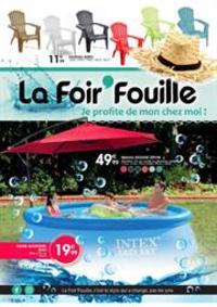Prospectus La Foir'Fouille Gosselies City Nord : Jardin mai