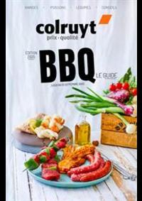 Prospectus Colruyt CHATELET : Catalogue BBQ