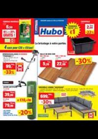 Promos et remises Hubo Braine-l'Alleud : Depliant Hubo
