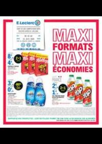 Prospectus E.Leclerc CHAMBLY : MAXI FORMATS MAXI ÉCONOMIES