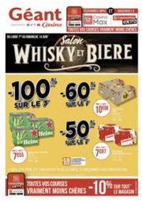 Prospectus Géant Casino EPINAL : Salon Whisky et bière
