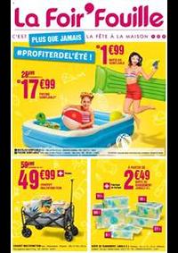 Prospectus La Foir'Fouille EPINAL CHAVELOT : Plus que jamais profiter de l'été!