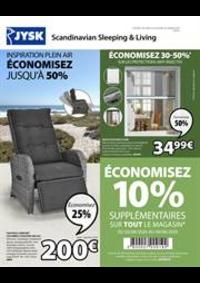 Promos et remises Jysk ÉPINAL : Économisez jusqu'à 50%