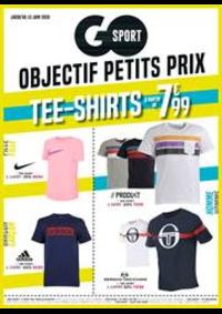 Prospectus Go Sport PARIS  Daumesnil : Objectif petits prix