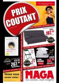 Prospectus Maga Meubles Corbenay : Prix Coutant