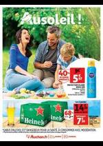 Prospectus Auchan : Au soleil !
