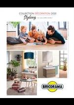 Prospectus Bricorama : Collection Décoration 2020