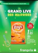Prospectus Franprix : Le grand live des marques