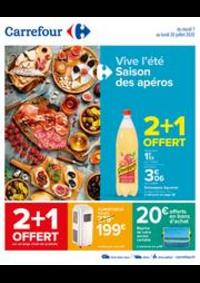 Prospectus Carrefour PUGET SUR ARGENS : Vive l'été, saison des apéros