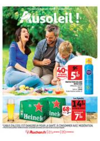 Prospectus Auchan CERGY : Au soleil !