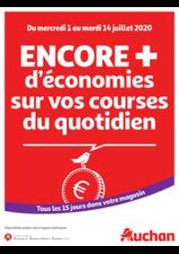 Prospectus Auchan PUTEAUX : Des économies au quotidien