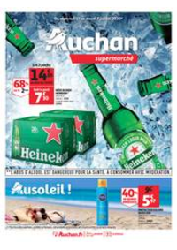 Prospectus Auchan Supermarché Paris 12 Reuilly : Au soleil !