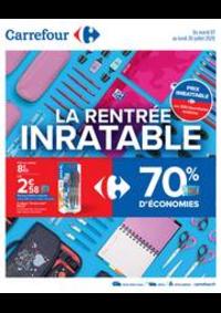 Prospectus Carrefour DRAGUIGNAN : La rentrée inratable