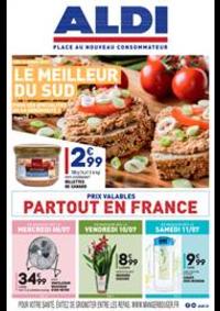 Prospectus Aldi Champigny-sur-Marne : Le meilleur du sud