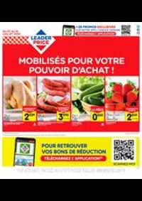 Prospectus Leader Price La Celle-Saint-Cloud : Mobilisés pour votre pouvoir d'achat !
