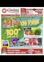 Promos et remises Supermarchés Casino : Big bons plans de l'été