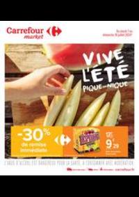 Prospectus Carrefour Market GUYANCOURT : Vive l été, pique-nique