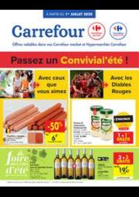 Promos et remises Carrefour Market FOSSES-LA-VILLE : folder Carrefour Market