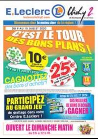 Prospectus E.Leclerc CLICHY SOUS BOIS : C'EST LE TOUR DES BONS PLANS!